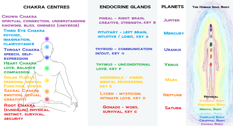 chakras-endocrine-planet